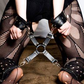 12 Piece Black BDSM Kit
